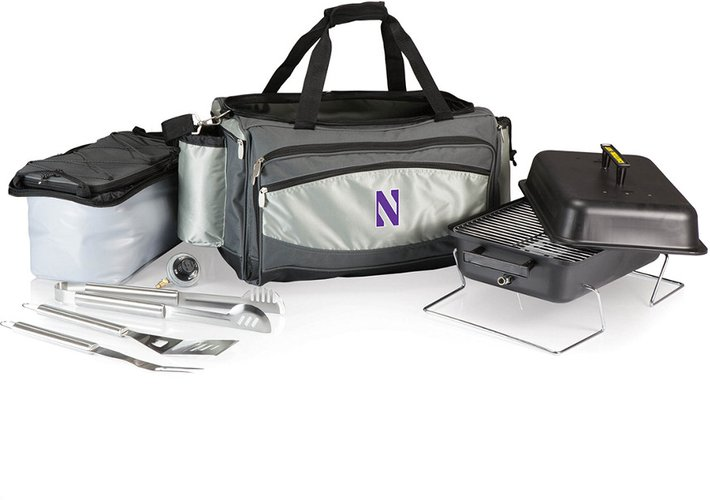 Northwestern Wildcats Vulcan Portable BBQ and Cooler Tote