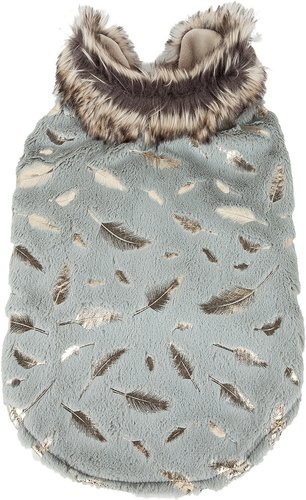 Pet Life Luxe Gold-Wagger Dog Coat