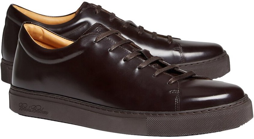 Brooks Brothers Leather Sneaker