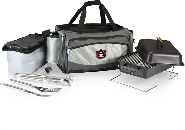 Auburn Tigers Vulcan Portable BBQ and Cooler Tote