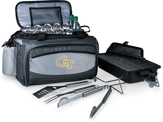 Georgia Tech Yellow Jackets Vulcan Portable BBQ and Cooler Tote