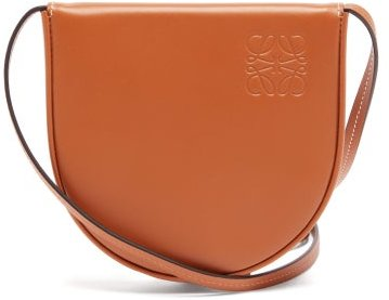 Heel Small Leather Pouch - Mens - Tan
