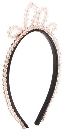 Single Wiggle Crystal-embellished Headband - Womens - Pink