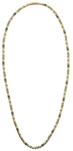 Malachite And Gold-plated Necklace - Womens - Gold