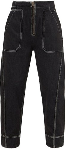 Garden Recycled-fibre Jeans - Womens - Black