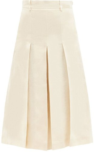 Geneve Culottes - Womens - Ivory