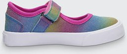 Girl's Dazzler Mary Jane Rainbow Ombre Sneakers, Baby/Toddler/Kids