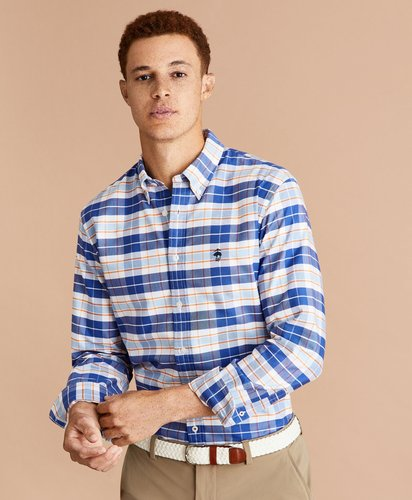 Multi-Check Oxford Shirt