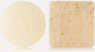Ma'amoul Soap Rose Of Damascus And Almond Exfoliant Refill Duo