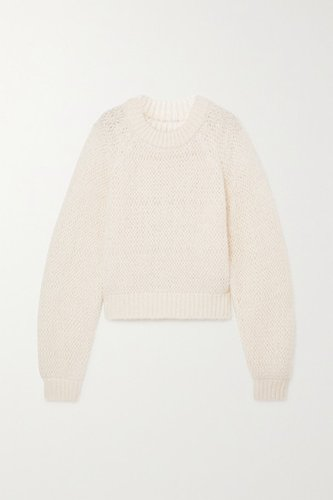 Open-knit Sweater - Ivory
