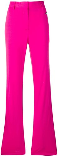 flared style trousers - PINK