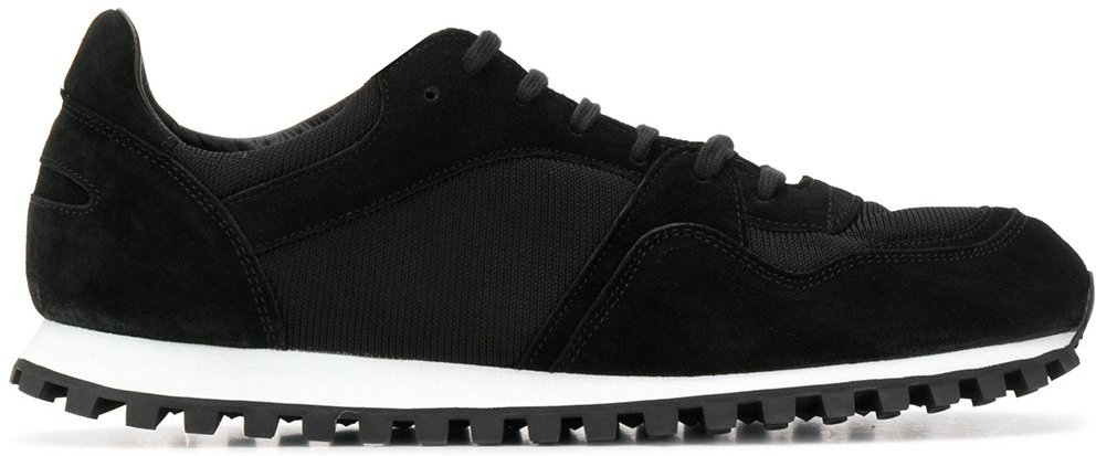 lace-up sneakers - Black