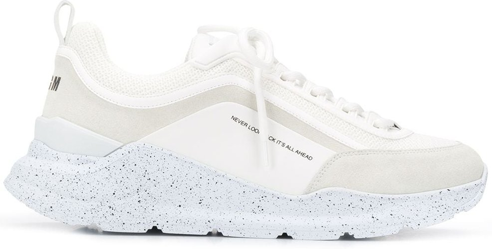 Never Look Back low-top sneakers - White