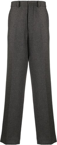 wide leg tailored trousers - Grey