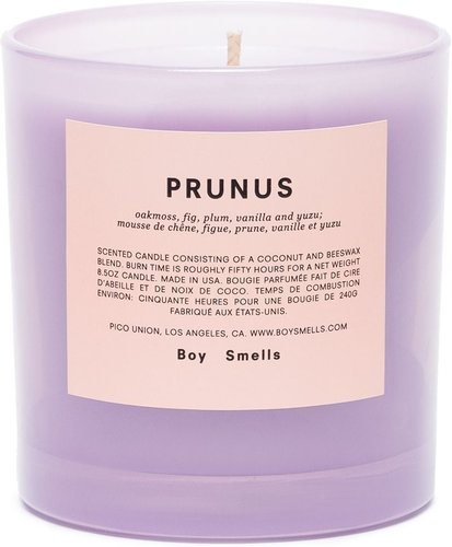 Prunus scented candle 200g - PURPLE