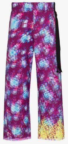 X Browns 50 vibrating flowers trousers