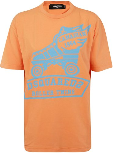 Roller Twins Printed T-shirt