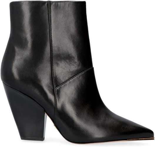 Lila Leather Ankle Boots