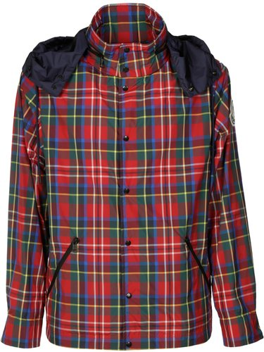 Checked Padded Buttoned Shirt