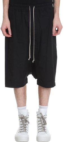 Rick 5 Pods Shorts In Black Cotton