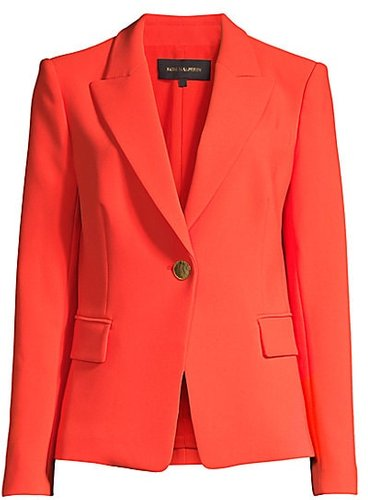 Dylan One-Button Blazer - Chilli - Size XS