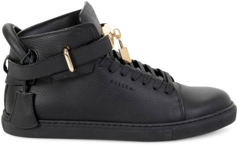 Alice Clip High-Top Sneakers - Black - Size 6