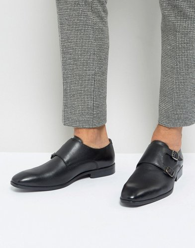 Monk Shoes In Black