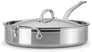 ProBond 5 Quart Forged Stainless Steel Saute Pan with Lid
