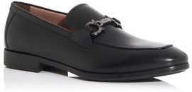 Ree Double Gancini Bit Leather Loafers - Wide