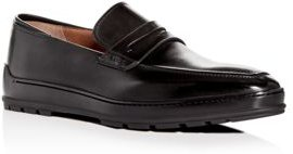 Relon Leather Apron-Toe Penny Loafers