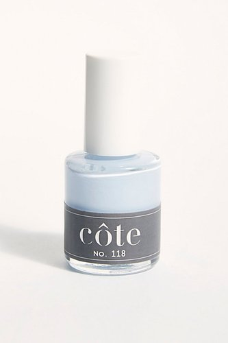 10-Free Nail Polish by Côte at Free People, Opaque Light Blue, One Size