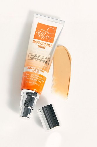 Impeccable Skin Moisturizing Face Sunscreen by Suntegrity at Free People, Buff, One Size