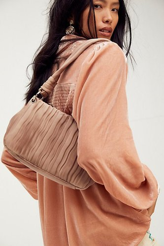 Olivia Shoulder Bag by Free People, Washed Taupe, One Size