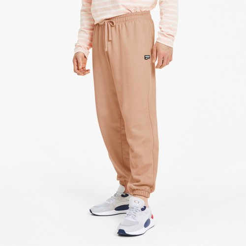 Downtown Men's Sweatpants in Pink Sand, Size XL