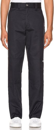 '67 Regular Fit Double Knee Pant in Black. - size 30 (also in 31, 32, 33, 34)