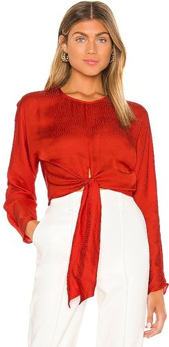 The Amaia Top in Red. - size S (also in XL)