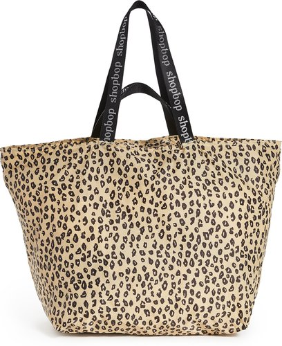 Leopard Tote with Shopbop Double Straps
