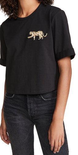 Abby Tee With Sequin Patch