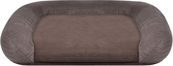 33 x 26 x 6 Memory Foam Lounger Bed (Big Sur Brown) Dog Accessories