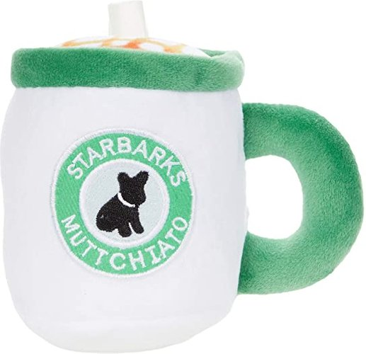 Starbarks Muttchiato Coffee Cup (Multi) Dog Toys