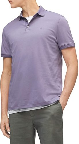The Liquid Touch Polo (Purple Sage) Men's Clothing