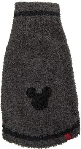 Cozychic Classic Disney(r) Mickey Mouse Pet Sweater (Carbon/Black) Dog Clothing