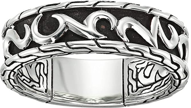 7 mm Classic Chain Band Ring (Sterling Silver) Ring
