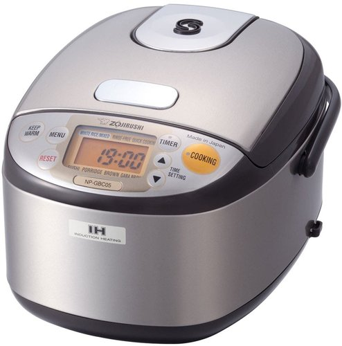 ZOJIRUSHI Induction 3-Cup Rice Cooker & Warmer - Stainless Dark Brown at Nordstrom Rack