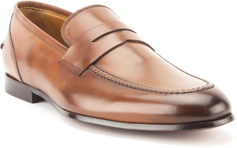 Coleman Apron Toe Penny Loafer