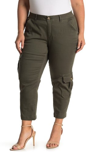 Democracy AbSolution Twill Ankle Crop Cargo Pants at Nordstrom Rack