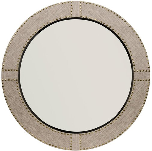 Jamie Young Cait Linen Round Mirror at Nordstrom Rack