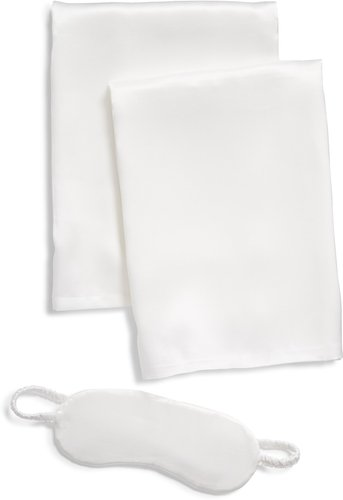 Silk Pillowcase & Eye Mask Set