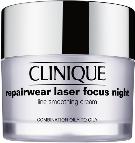 Repairwear Laser Focus Night Line Smoothing Cream For Combination Oily To Oily Skin