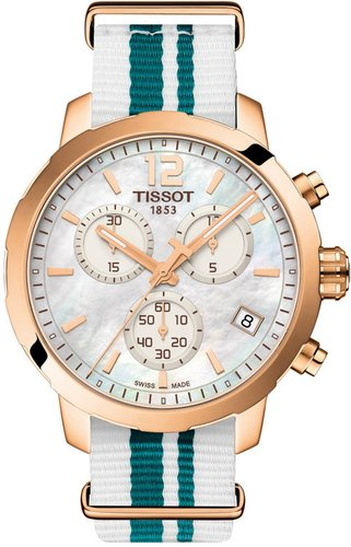 Tissot Unisex Quickster NATO Chronograph Watch, 42mm at Nordstrom Rack